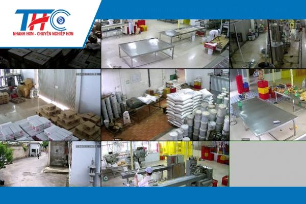 Lắp camera khu công nghiệp có đặc thù về quy mô, tính chất công việc.