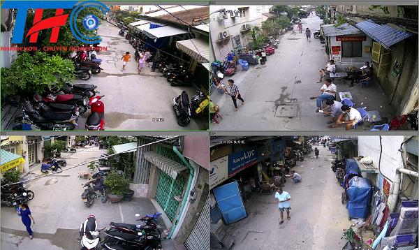 THC lắp đặt camera cho khu dân cư số 4 Phường Ngọc Khánh