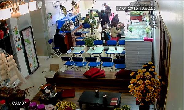 lắp đặt camera cho quán cafe